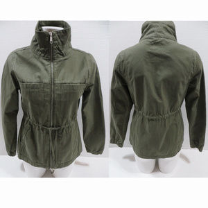 Old Navy jacket XS Field Army Utility zip up